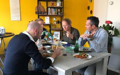 Dubbel Doel diner: 'Goed groeien'