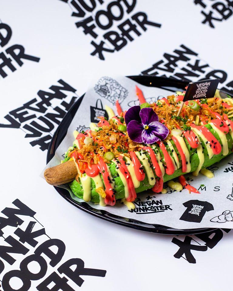 Vegan Hotdog Vegan Junkfood bar